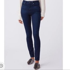 Paige Margot Ultra Skinny Jeans High Rise Leighton